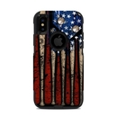 DecalGirl OCXS-OLDGLORY OtterBox Commuter iPhone X-XS Case Skin - Old Glory (Skin Only)