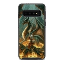 DecalGirl OSS10-DMAGE OtterBox Symmetry Galaxy S10 Case Skin - Dragon Mage (Skin Only)