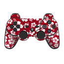 DecalGirl PS3C-ALOHA-RED PS3 Controller Skin - Aloha Red (Skin Only)