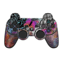 DecalGirl PS3C-BWALL PS3 Controller Skin - Butterfly Wall (Skin Only)