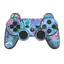 DecalGirl PS3C-LAVFLWR PS3 Controller Skin - Lavender Flowers (Skin Only)