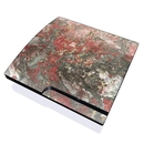 DecalGirl PS3S-GMAGMAMARB PS3 Slim Skin - Gilded Magma Marble (Skin Only)