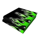 DecalGirl PS4-AFLAMES Sony PS4 Skin - Acid Flames (Skin Only)