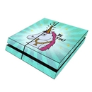 DecalGirl PS4-BEYOUNI Sony PS4 Skin - Be You Unicorn (Skin Only)