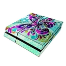 DecalGirl PS4-BFLYGLASS Sony PS4 Skin - Butterfly Glass (Skin Only)