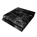 DecalGirl PS4-BLACK-MARBLE Sony PS4 Skin - Black Marble (Skin Only)