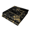 DecalGirl PS4-BLACKGOLD Sony PS4 Skin - Black Gold Marble (Skin Only)
