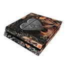 DecalGirl PS4-BLKLACE Sony PS4 Skin - Black Lace Flower (Skin Only)