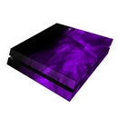 DecalGirl PS4-CRYST-PRP Sony PS4 Skin - Dark Amethyst Crystal (Skin Only)