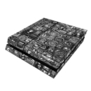 DecalGirl PS4-DISTACTBW Sony PS4 Skin - Distraction Tactic B&W (Skin Only)