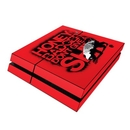 DecalGirl PS4-DONTGIVEA Sony PS4 Skin - Don't Give A (Skin Only)