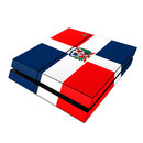 DecalGirl Sony PS4 Skin - Dominican Republic Flag (Skin Only)