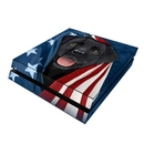 DecalGirl PS4-PATLAB Sony PS4 Skin - Patriotic Lab (Skin Only)