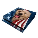 DecalGirl PS4-PATRETRIEV Sony PS4 Skin - Patriotic Retriever (Skin Only)
