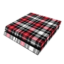 DecalGirl PS4-PLAID-RED Sony PS4 Skin - Red Plaid (Skin Only)