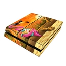 DecalGirl PS4-SFLAMINGO Sony PS4 Skin - Sunset Flamingo (Skin Only)