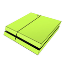 DecalGirl Sony PS4 Skin - Solid State Lime (Skin Only)