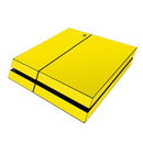 DecalGirl Sony PS4 Skin - Solid State Yellow (Skin Only)