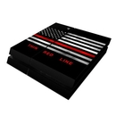 DecalGirl PS4-THINRLINE Sony PS4 Skin - Thin Red Line (Skin Only)