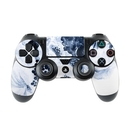 DecalGirl PS4C-BLUEBLOOMS Sony PS4 Controller Skin - Blue Blooms (Skin Only)