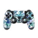 DecalGirl PS4C-BLUEINK Sony PS4 Controller Skin - Blue Ink Floral (Skin Only)