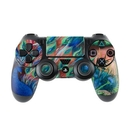 DecalGirl PS4C-CORALPC Sony PS4 Controller Skin - Coral Peacock (Skin Only)