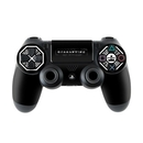DecalGirl PS4C-DHARMA-BLK Sony PS4 Controller Skin - Dharma Black (Skin Only)