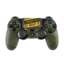 DecalGirl PS4C-DONTALK Sony PS4 Controller Skin - Don't Talk (Skin Only)