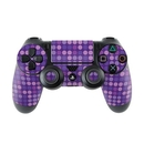 DecalGirl PS4C-DOTS-PRP Sony PS4 Controller Skin - Dots Purple (Skin Only)