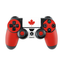 DecalGirl Sony PS4 Controller Skin - Canadian Flag (Skin Only)
