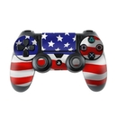 DecalGirl PS4C-FLAG-USA Sony PS4 Controller Skin - USA Flag (Skin Only)
