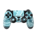 DecalGirl PS4C-FLOR-BLU Sony PS4 Controller Skin - Flores Agua (Skin Only)