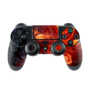 DecalGirl Sony PS4 Controller Skin - Flower Of Fire (Skin Only)