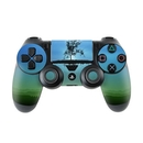 DecalGirl PS4C-FTBLU Sony PS4 Controller Skin - Flying Tree Blue (Skin Only)