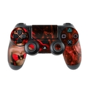 DecalGirl PS4C-GHOST-RED Sony PS4 Controller Skin - Ghost Red (Skin Only)