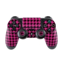DecalGirl PS4C-HTOOTH-PNK Sony PS4 Controller Skin - Pink Houndstooth (Skin Only)
