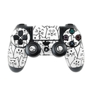 DecalGirl PS4C-MOODYCATS Sony PS4 Controller Skin - Moody Cats (Skin Only)