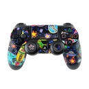 DecalGirl PS4C-OSPACE Sony PS4 Controller Skin - Out to Space (Skin Only)