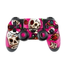DecalGirl PS4C-PNKSCTR Sony PS4 Controller Skin - Pink Scatter (Skin Only)