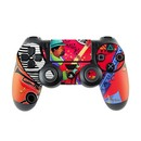 DecalGirl PS4C-REDJAZZ Sony PS4 Controller Skin - Red Hot Jazz (Skin Only)