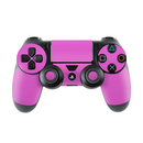DecalGirl Sony PS4 Controller Skin - Solid State Vibrant Pink (Skin Only)