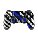 DecalGirl PS4C-THINBLINEHERO Sony PS4 Controller Skin - Thin Blue Line Hero (Skin Only)