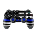 DecalGirl PS4C-THINBLINE Sony PS4 Controller Skin - Thin Blue Line (Skin Only)
