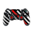 DecalGirl PS4C-THINRLINEHERO Sony PS4 Controller Skin - Thin Red Line Hero (Skin Only)