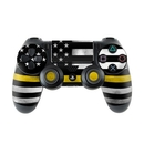 DecalGirl PS4C-THINYLINE Sony PS4 Controller Skin - Thin Yellow Line (Skin Only)