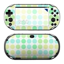 DecalGirl PSV2-DOTS-BIG-MNT Sony PS Vita 2000 Skin - Big Dots Mint (Skin Only)