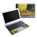 DecalGirl SCB1-VG-CAFETERRACE-NIGHT Samsung 11-6 Chromebook Skin - Cafe Terrace At Night (Skin Only)