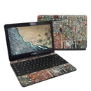 DecalGirl SCB3-EVERYNO Samsung Chromebook 3 Skin - Everything and Nothing (Skin Only)