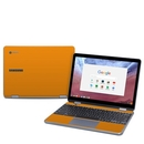 DecalGirl SCP8-SS-ORN Samsung Chromebook Plus (2018) Skin - Solid State Orange (Skin Only)