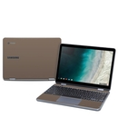 DecalGirl SCP9-SS-FDE Samsung Chromebook Plus (2019) Skin - Solid State Flat Dark Earth (Skin Only)